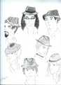 BDB:hats - the-black-dagger-brotherhood fan art