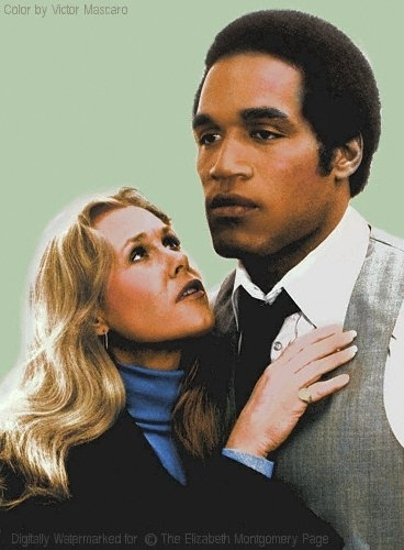 Elizabeth Montgomery and oj simpson
