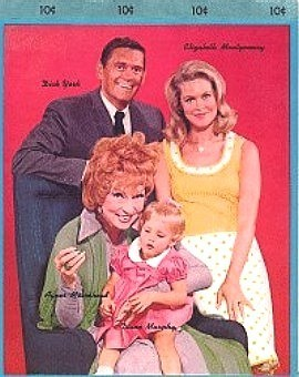 Bewitched 1966 Writing Tablet