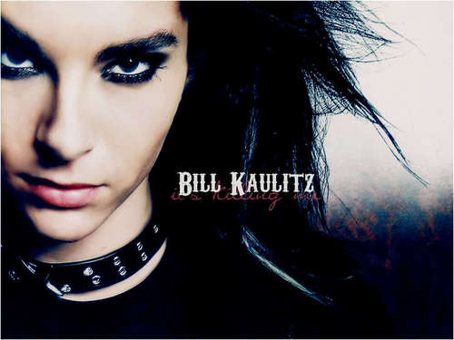 Bill Kaulitz achtergrond probably with a portrait called Bill