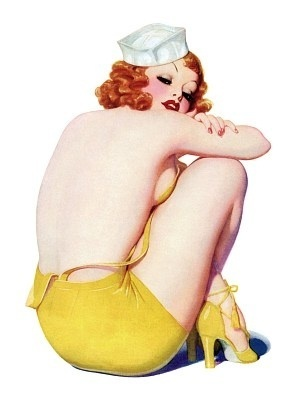 Pin Up Girls wallpaper with skin entitled Blondes And Redheads