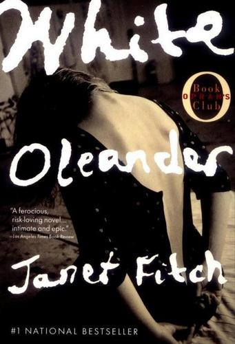 "Janet Fitch wallpaper possibly containing a portrait and anime called Book ""White Oleander"" Cover"