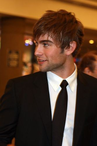 Nate Archibald wallpaper with a business suit, a suit, and a double breasted suit called Chace Crawford