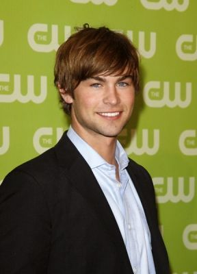 Nate Archibald wallpaper probably containing a business suit and a portrait titled Chace Crawford