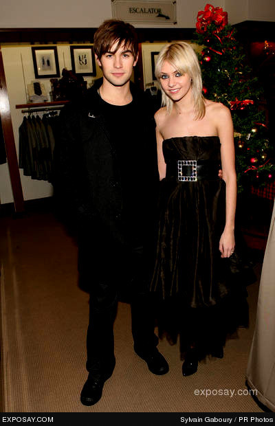 Chace crawford is dating taylor momsen