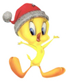 Christmas Tweety Bird