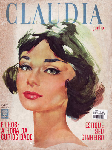 Claudia Magazine Cover