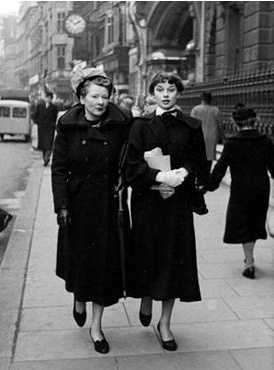 Ella and Audrey in London