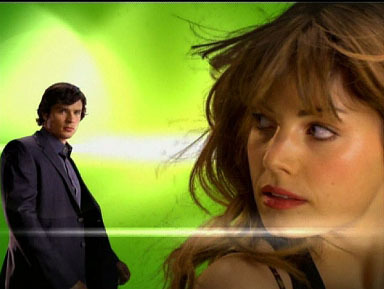 Erica Durance and Tom Welling các bức ảnh From The CW's Promo For The New Season