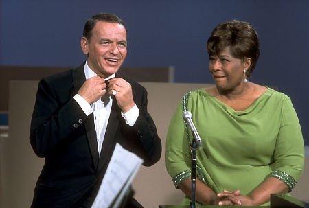 Frank Sinatra and Ella Fitzgerald