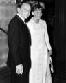 Frank Sinatra and Mia