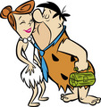 Fred and Wlima Flintstone - the-flintstones photo