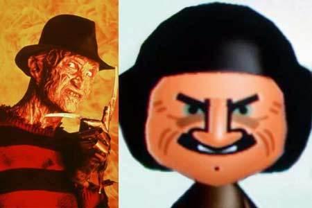 Freddy Krueger mii
