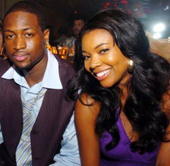 Gabrielle Union wallpaper titled Gabrielle and Boyfriend Dwyane Wade