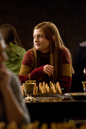 Ginny Dining in Great Hall