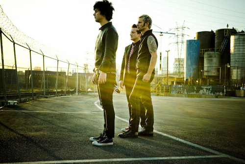 Green dia - '21st Century Breakdown' OFFICIAL PHOTOSHOOT!