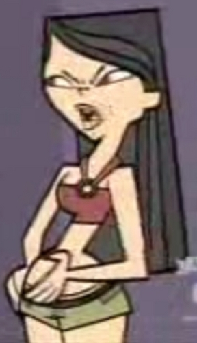 Total Drama Island hình nền possibly with a không gian shuttle and anime titled Heather got fat!