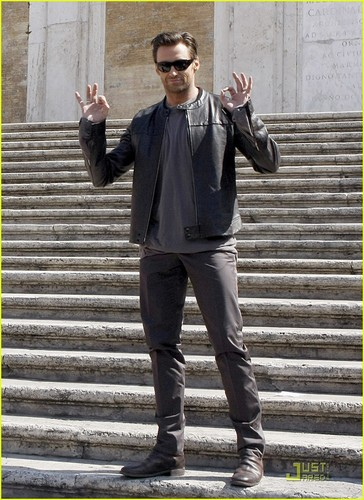 Hugh in Rome