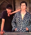 JOHNNY AND PONYBOY - the-outsiders photo