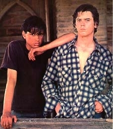 the outsiders wallpaper called JOHNNY AND PONYBOY