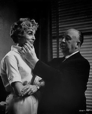 Janet Leigh and Alfred Hitchcock - alfred-hitchcock Photo