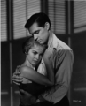 Janet Leigh and John Gavin in Psycho