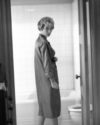 Psycho wallpaper containing a business suit entitled Janet Leigh in Psycho