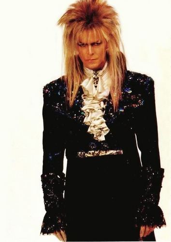 Labyrinth Hintergrund with a well dressed person entitled Jareth