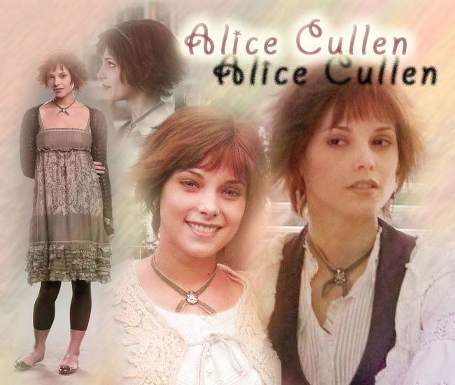 Jasper Hale & Alice Cullen