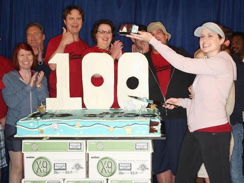 Jenna @ 'The Office' 100th Episode Celebration