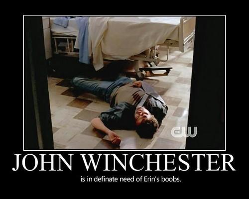 John Winchester Poster