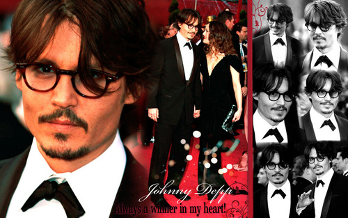 Johnny Depp wallpaper with a business suit and a dress suit called Johnny <3