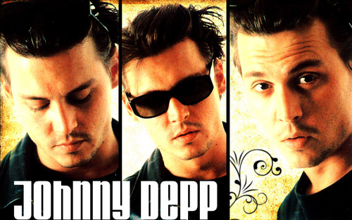 Johnny Depp wallpaper possibly containing sunglasses and anime entitled Johnny <3