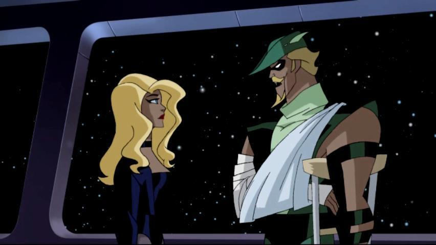 Green arrow justice league unlimited