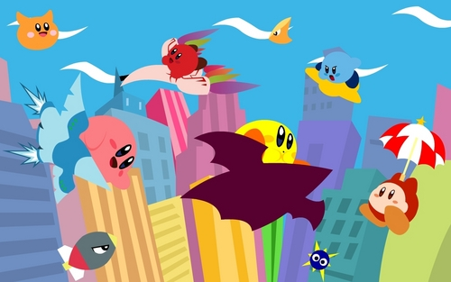 Kirby Air Ride Hintergrund