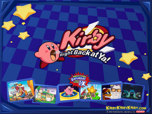 Kirby 壁纸 possibly with 日本动漫 called Kirby: Right Back At Ya!