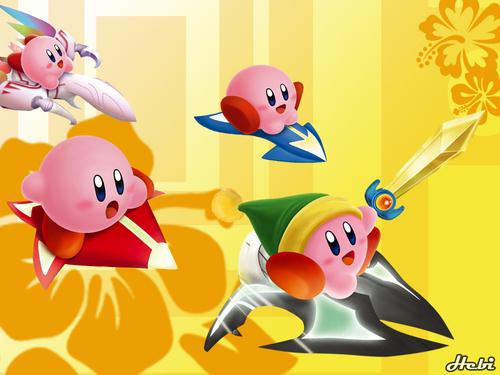 Kirby 바탕화면