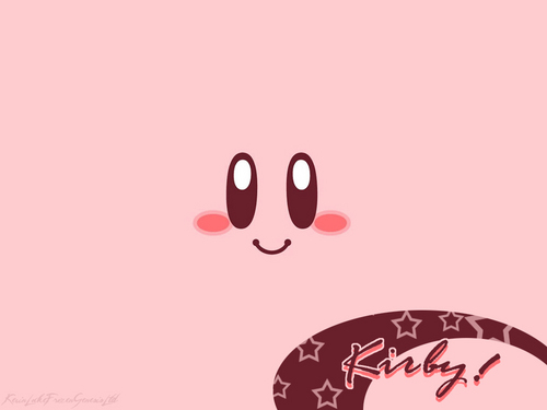 Kirby 壁纸 titled Kirby for a New Generation