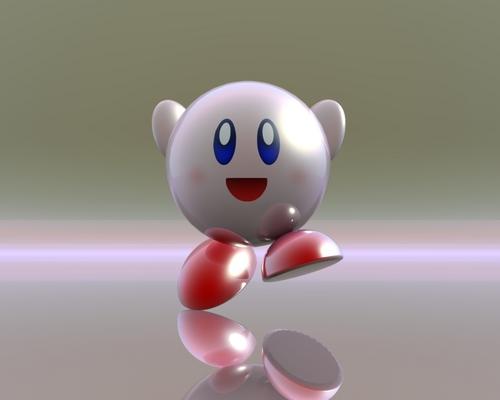 Kirby in 3D