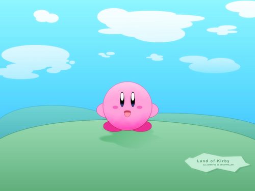 Land of Kirby Wallpaper