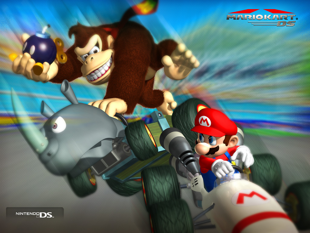 Mario Kart Ds Mario Wallpaper 5598408 Fanpop