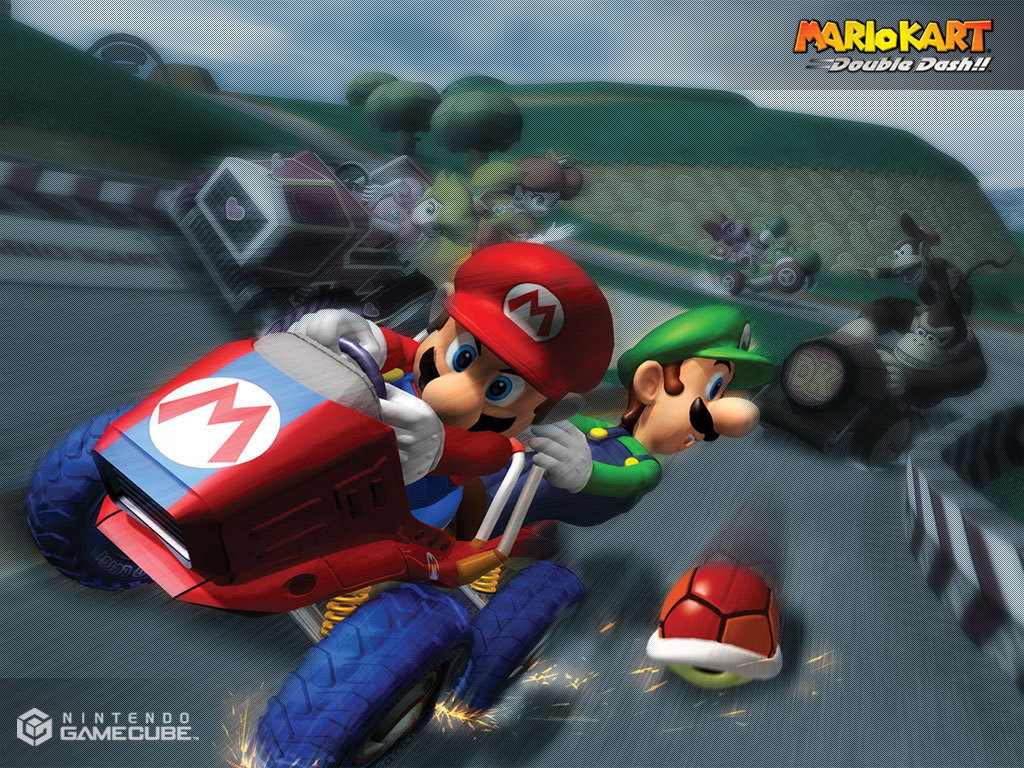 mario kart super mario bros wallpaper 5599397 fanpop