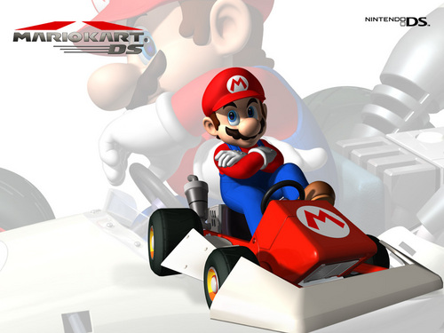 Mario Kart - super-mario-bros Wallpaper