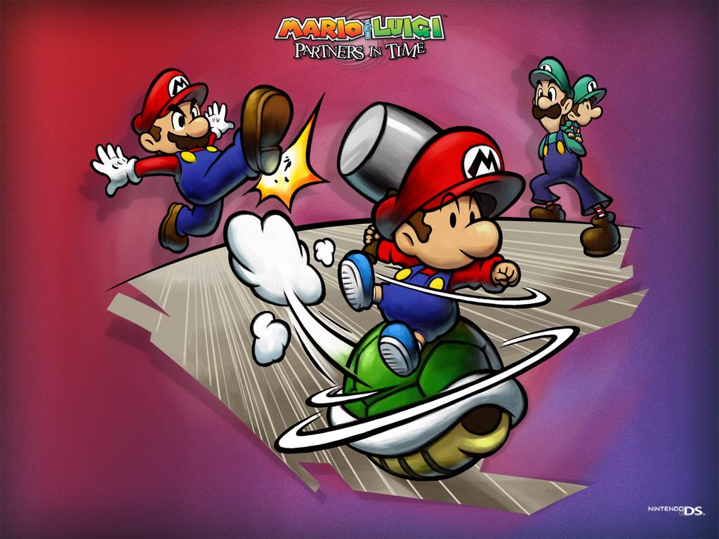 Mario Luigi Partners In Time Super Mario Bros