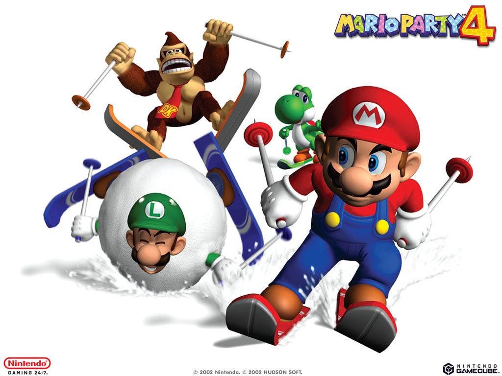 Mario Party 4 - Super Mario Bros  Wallpaper (5599513) - Fanpop