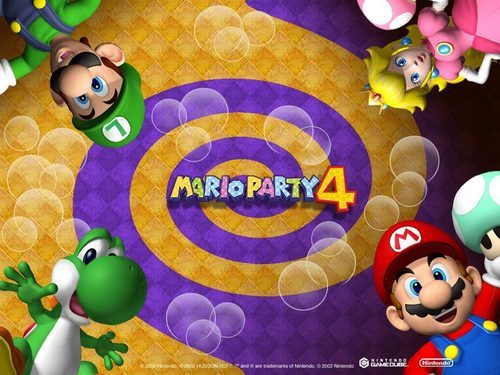 Mario Party 4 - super-mario-bros Wallpaper