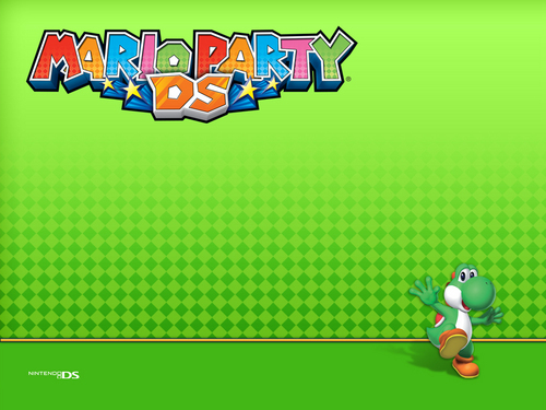 super mario bros wallpaper probably with animê entitled Mario Party DS