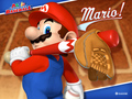 super-mario-bros - Mario Superstar Baseball wallpaper