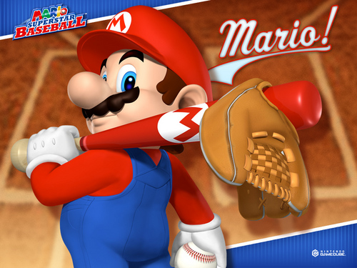 Mario Superstar Baseball - super-mario-bros Wallpaper