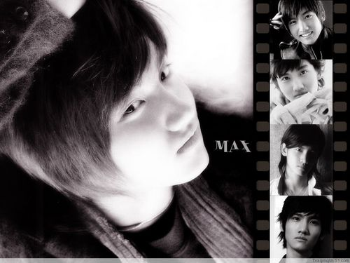 Max Changmin wallpaper probably containing a portrait titled Max bacheca